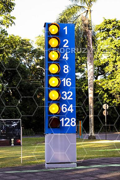 Jardim dos Códigos: semáforo mensagem em código ASCII