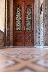 Porta de sala do Castelo Mourisco