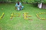 Jardim do Instituto de Pesquisa Evandro Chagas (IPEC)