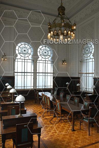 Biblioteca do Castelo da Fiocruz
