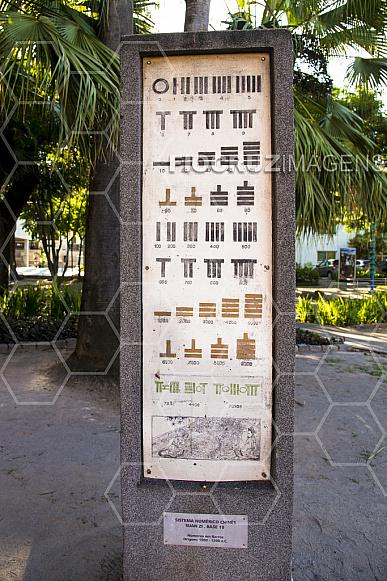 Jardim dos Códigos: sistema de numeração chinês