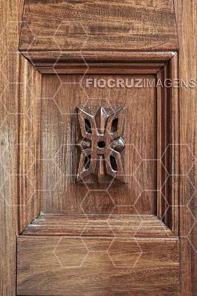 Detalhe decorativo do Castelo Mourisco