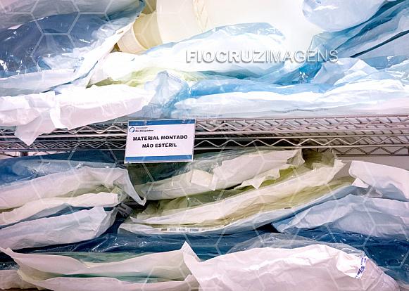 Materiais embalados
