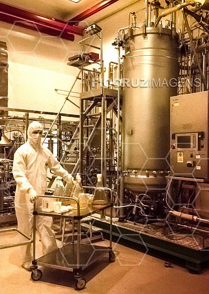 Preparação para inoculação no fermentador