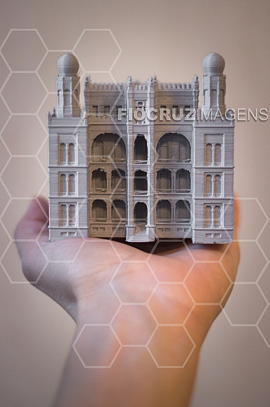 Miniatura do Castelo da Fiocruz