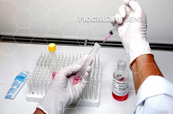 Laboratório de pesquisa biológica