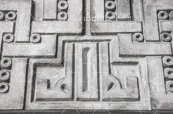 Parede do Castelo da Fiocruz