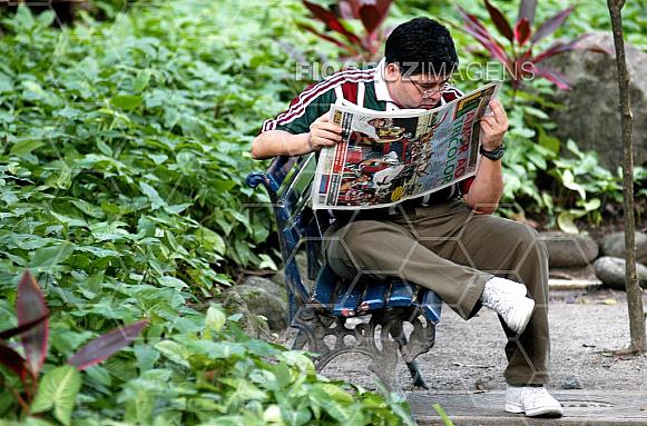Leitura de jornal