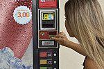 Máquina automática de refrigerante.