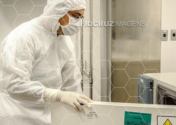 Verificação em estufa bacteriológica