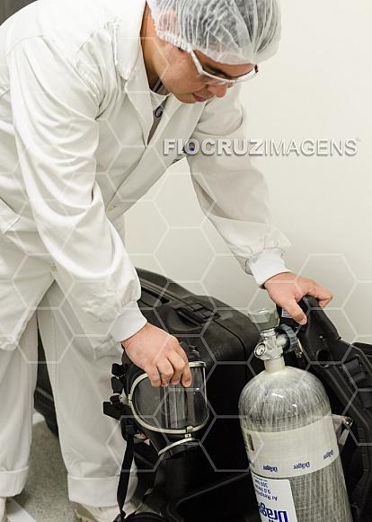 Equipamentos de proteção para gases tóxicos