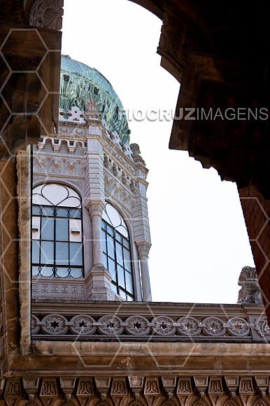 Cúpula do Castelo da Fiocruz