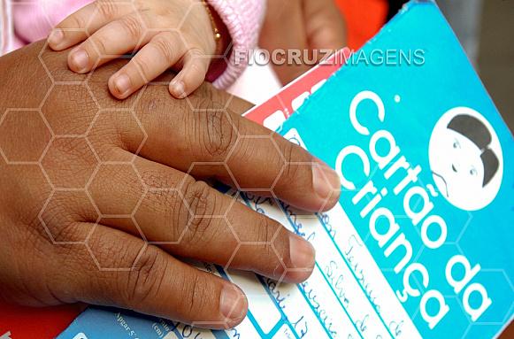 Cartão de vacinação infantil