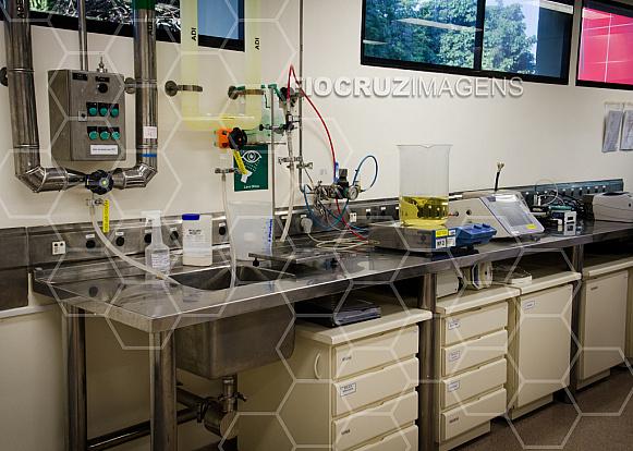Laboratório de meios de cultura